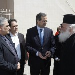 Επίσκεψη του προέδρου της ΝΔ στα συσσίτια της Ι.Α.Α.